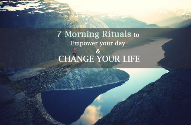 morning rituals of successful people